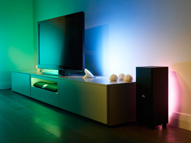 6 gorgeous philips hue light set ups hue home lighting for Philips hue friends