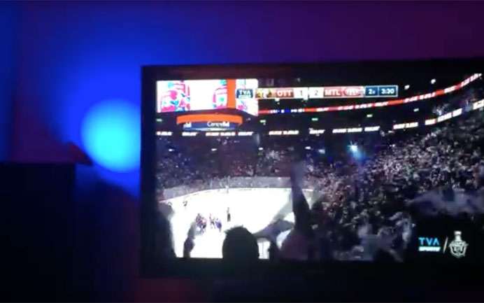 Make your Hue Lights Flash When your Sports Team Score!