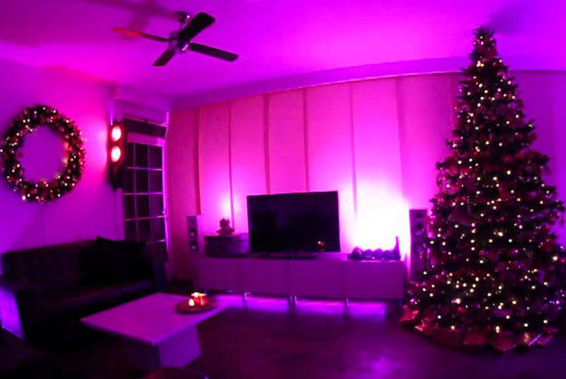 6 amazing christmas lights using philips hue