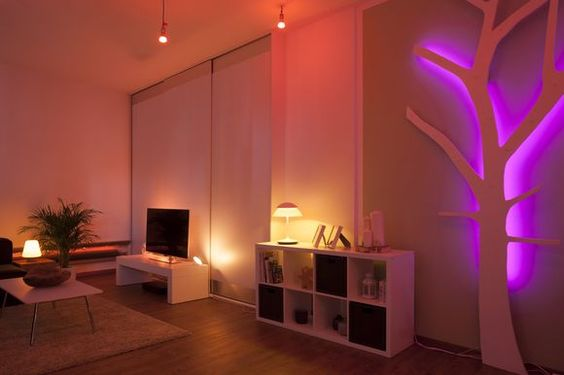 Philips Hue Living Room