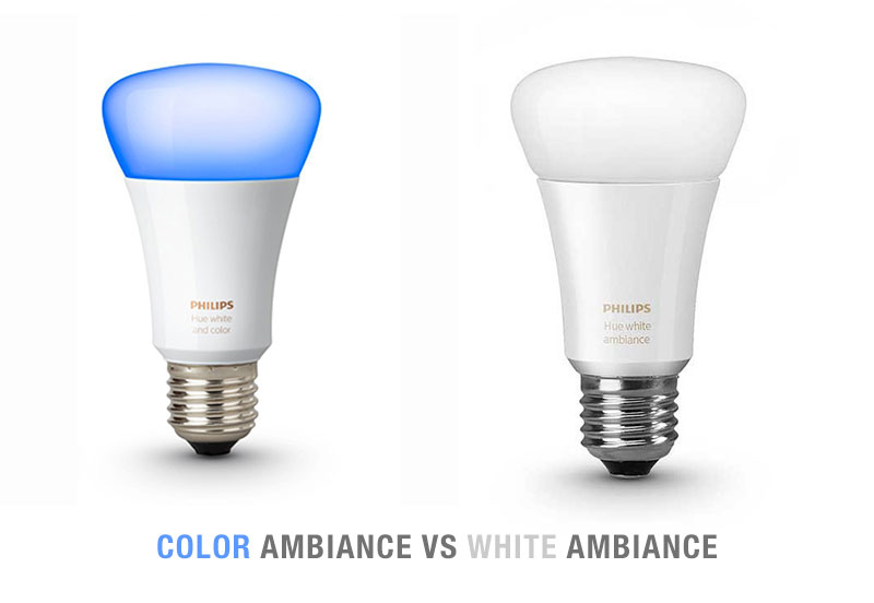 White Ambiance Vs Color Ambiance Bulbs. Which Hue Bulbs to Buy?