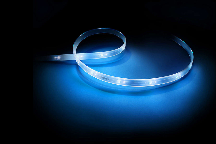 differences between philips hue lightstrip hue plus hue home lighting. Black Bedroom Furniture Sets. Home Design Ideas