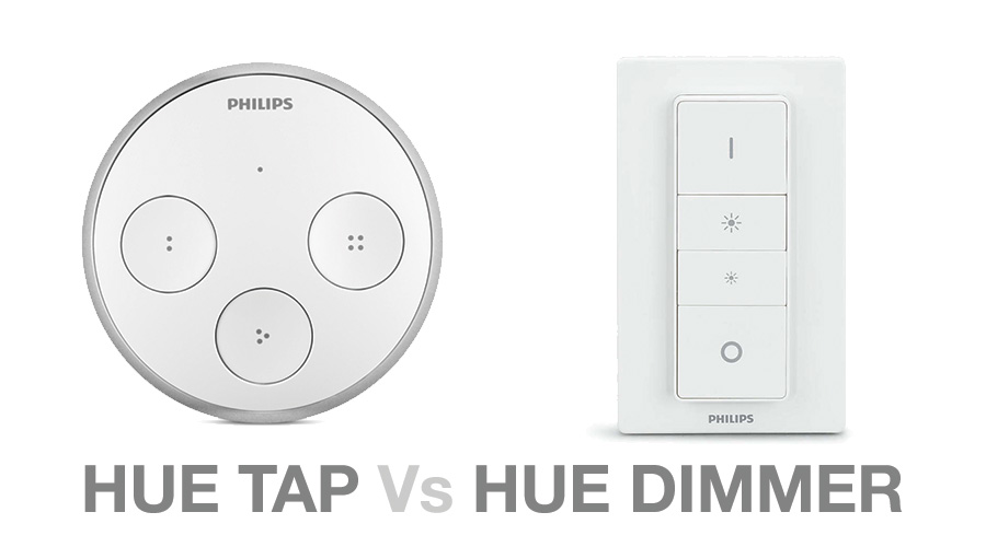 Pæn Hue Tap Vs Hue Dimmer - Which one to choose? - Hue Home Lighting HQ75