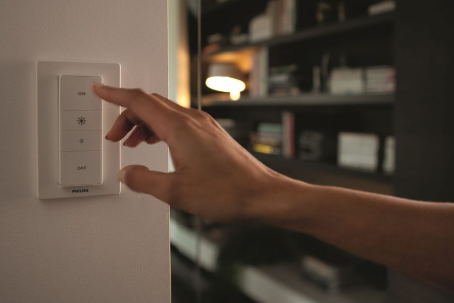 Control Your Hue Lights with the Hue Dimmer Switch