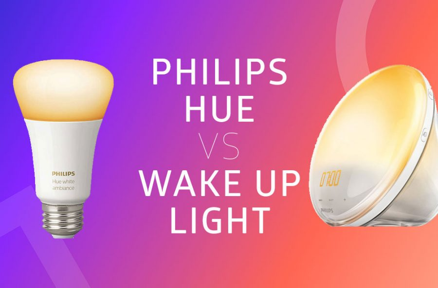 Philips Hue Vs Philips Wake Up Light Alarm