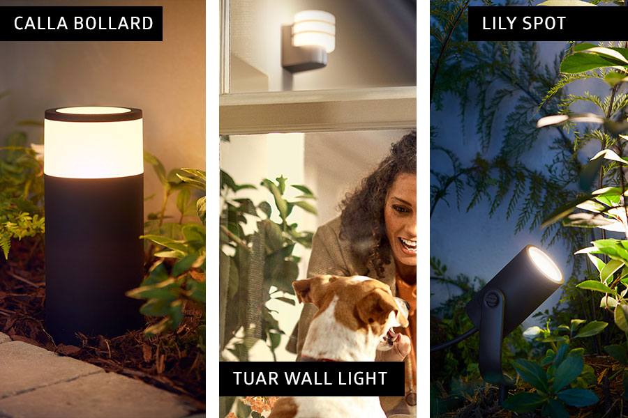 Philips Hue outdoor range