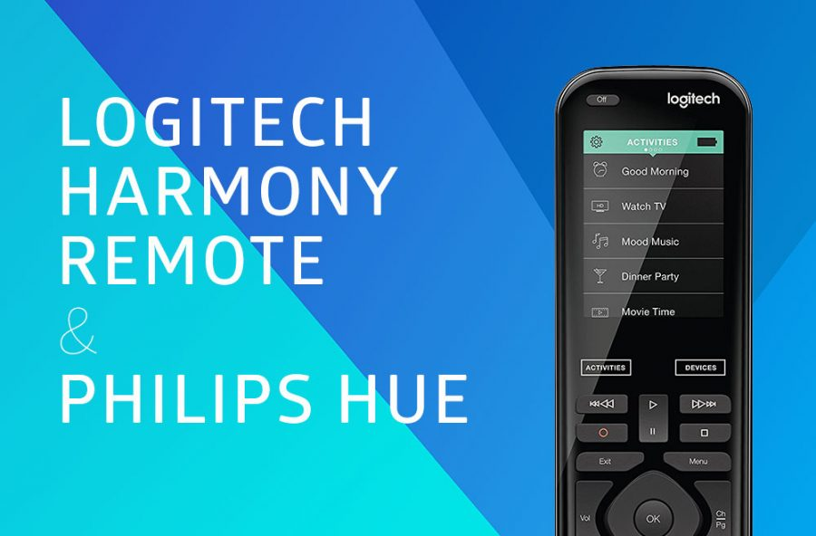 Logitech Harmony Elite Remote & Philips Hue