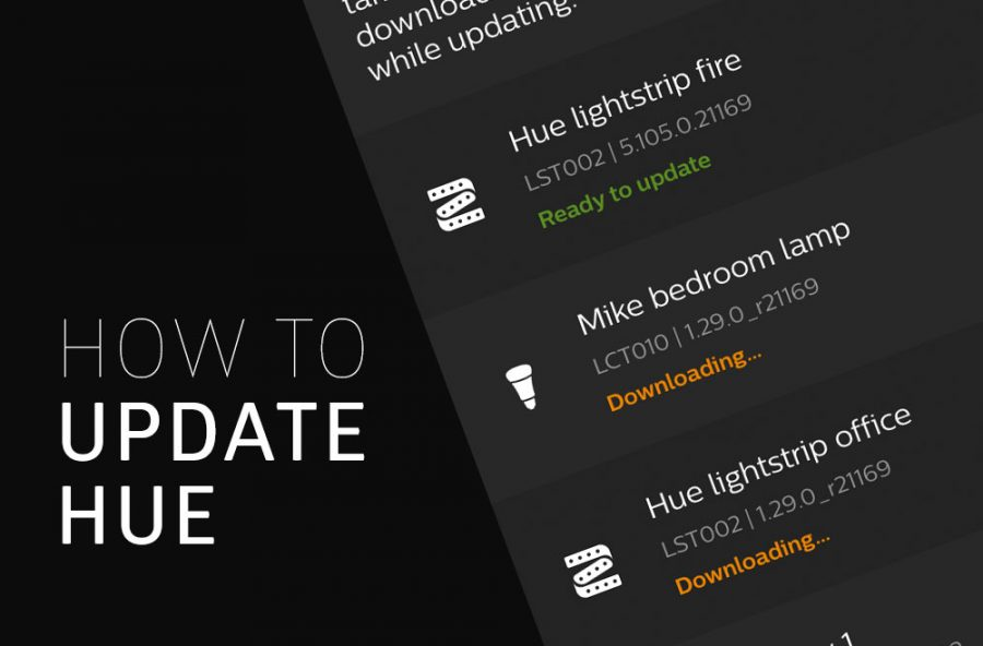 How to Update Hue