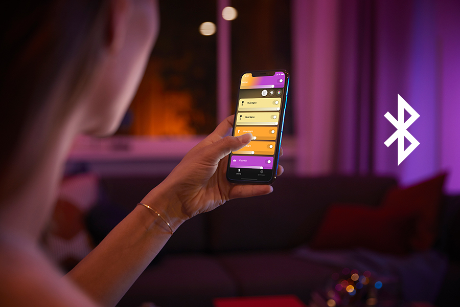 Philips Hue adds Bluetooth Capability to Bulbs