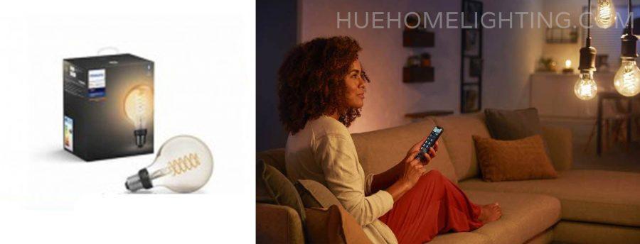 Philips Hue White Filament Globe