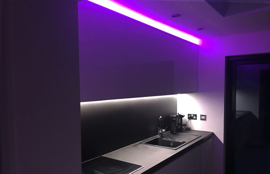 Hue Kitchen Lightstrip Installation