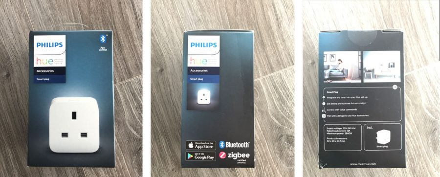 Philips Hue Smart Plug Packaging