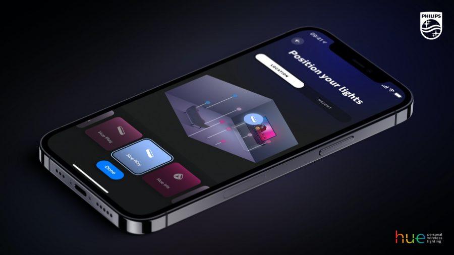 New Hue App