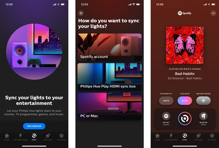 Sync Philips Hue with Spotify Music
